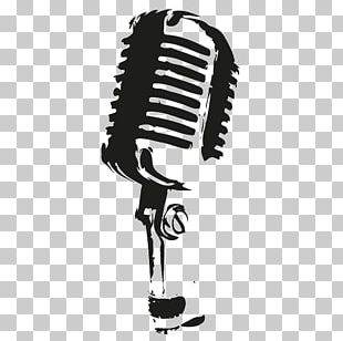 Microphone Drawing PNG