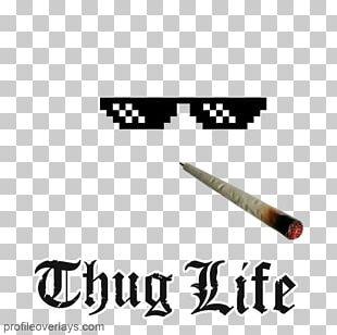 T-shirt Thug Life Editing Videomaker Magazine PNG