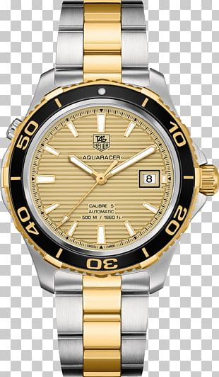 TAG Heuer Aquaracer Automatic Watch Chronograph PNG