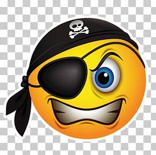 Emoticon Smiley Piracy Emoji PNG