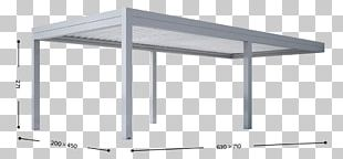 Pergola Aluminium Ecological Design Extrusion Twist PNG