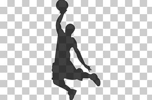Basketball Slam Dunk Sport Silhouette Backboard PNG