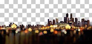 Nightscape City Gratis PNG
