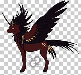 Rooster Mustang Pony Pack Animal Legendary Creature PNG