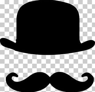 Bowler Hat Moustache Top Hat PNG