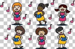 Choir Singing PNG