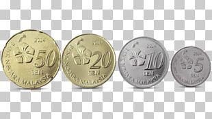 Coin Malaysian Ringgit Currency Bank Negara Malaysia PNG