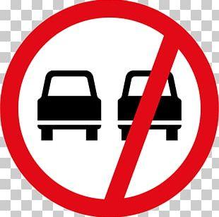 Car Traffic Sign Overtaking Warning Sign Regulatory Sign PNG