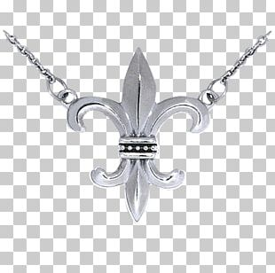 Charms & Pendants Necklace Fleur-de-lis Jewellery Silver PNG