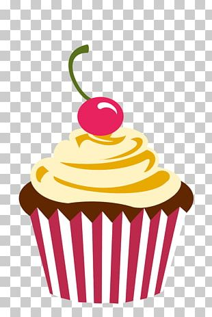 Cupcake Frosting & Icing Muffin Bakery Chocolate Cake PNG