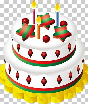Christmas Cake Birthday Cake Fruitcake Chocolate Cake Sponge Cake PNG