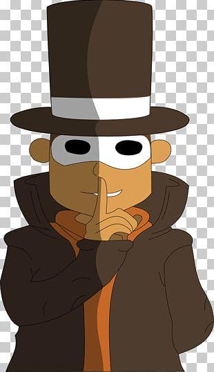 Cartoon Character Hat Fiction PNG