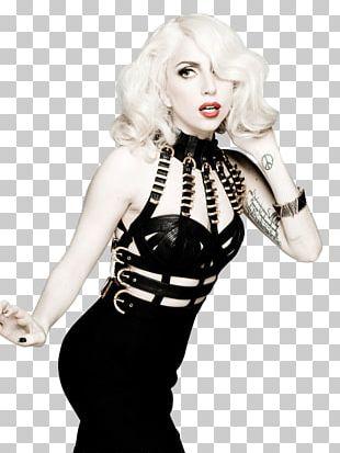 Black Lady Gaga PNG