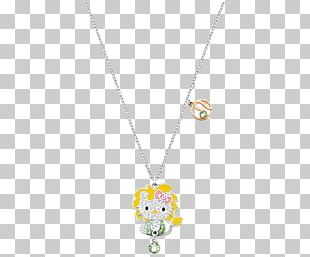 Pendant Necklace Yellow Body Piercing Jewellery Pattern PNG