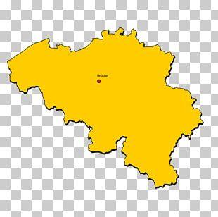 Belgium Map Drawing PNG