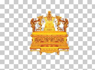 Forbidden City Emperor Of China Qing Dynasty Throne PNG