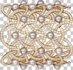 Pearl Jewellery Bracelet Diamond Carat PNG