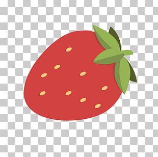 Strawberry Aedmaasikas Cartoon PNG