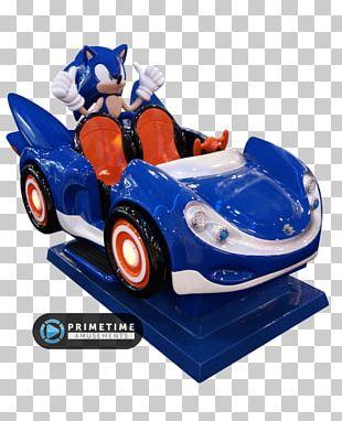 Car SegaSonic The Hedgehog Sonic & Sega All-Stars Racing Kiddie Ride Amusement Park PNG