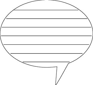 Speech Balloon Writing Thought PNG