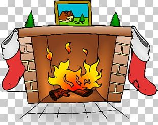 Fireplace Mantel PNG
