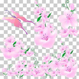 Flower Arranging Branch Logo PNG