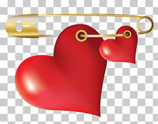 Heart Pin PNG