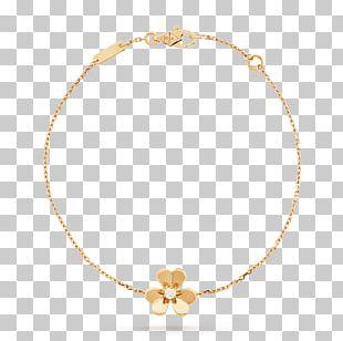 Van Cleef & Arpels Charm Bracelet Gold Jewellery PNG