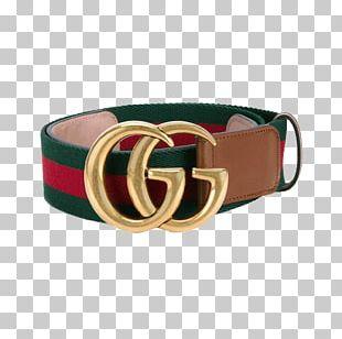 Belt Gucci Fashion Buckle Model PNG