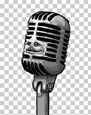 Microphone Drawing Comics PNG