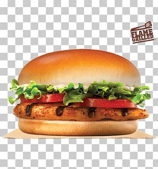 Whopper Burger King Grilled Chicken Sandwiches Hamburger Cheeseburger PNG