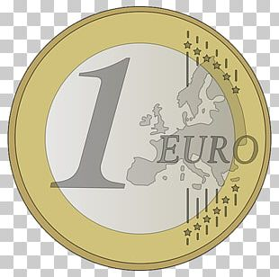 Euro Coins 2 Euro Coin 1 Euro Coin PNG