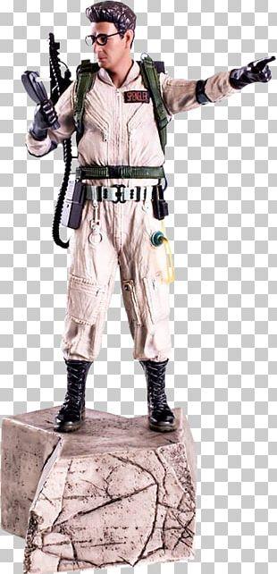 Dr. Egon Spengler Ghostbusters 1/10 Scale Statue Peter Venkman Ray Stantz Winston Zeddemore PNG