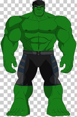Hulk Cartoon Superhero PNG