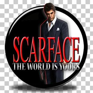 Scarface: The World Is Yours Tony Montana Logo Video Game PNG