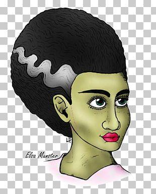 Bride Of Frankenstein Cheek Nose Chin PNG