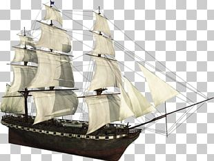 Brigantine Galleon Caravel Barque Clipper PNG