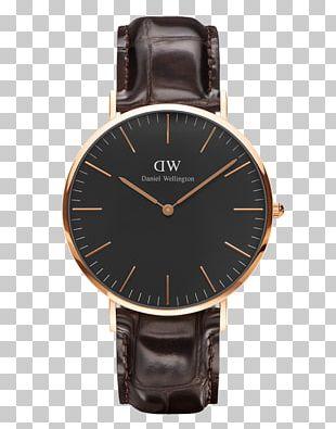 Watch Daniel Wellington Strap Chronograph Rado PNG