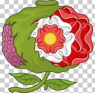 Royal Badges Of England Garden Roses Heraldry PNG