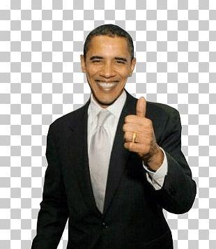 Thumb Up Obama PNG