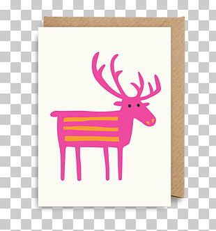 Greeting & Note Cards Paper Reindeer Gift PNG