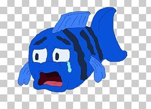 Sad Fish Drawing PNG
