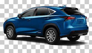 2018 Lexus NX 300 F Sport Car Compact Sport Utility Vehicle PNG