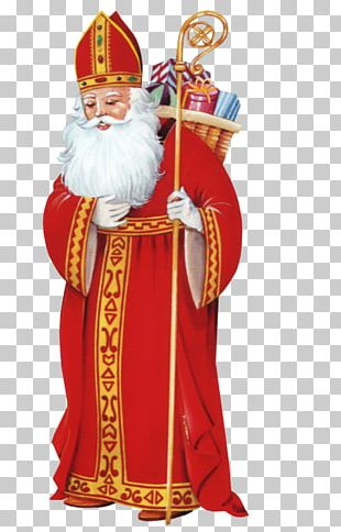 Santa Claus Myra Saint Nicholas Day PNG