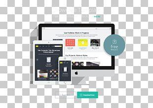 Responsive Web Design Web Page PNG