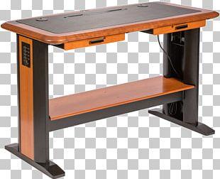 Table Computer Desk Standing Desk Sit-stand Desk PNG