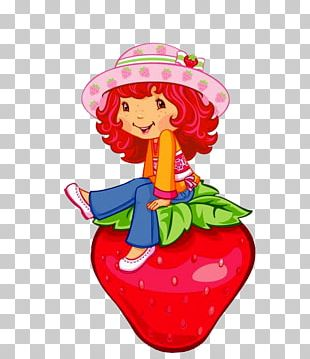 Strawberry Shortcake Wall Decal Crêpes Suzette PNG