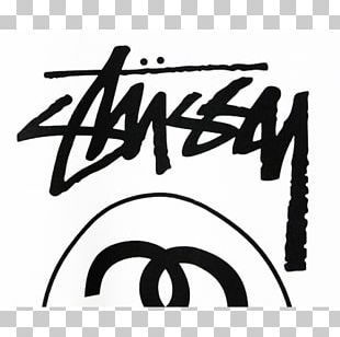 T-shirt Stüssy Streetwear Logo The Hundreds PNG