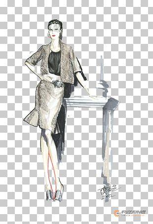 France Fashion Illustration PNG