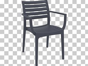 Chair Garden Furniture Seat Table PNG